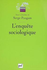 L'enquête sociologique