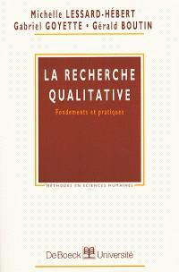 La recherche qualitative : fondements et pratiques