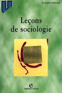 Leçons de sociologie