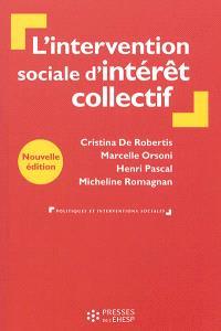 L'intervention sociale d'intérêt collectif : de la personne au territoire