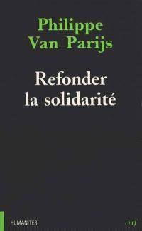 Refonder la solidarité