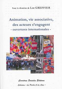 Animation et vie associative, des acteurs se mobilisent : ouvertures internationales