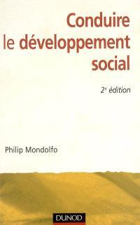 Conduire le développement social