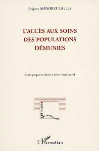 L'accès aux soins des populations démunies : situation et perspectives en 1996