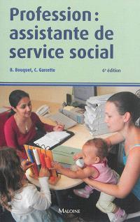 Profession : assistante de service social