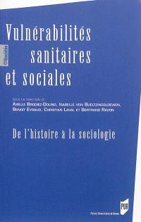 Vulnérabilités sanitaires et sociales : de l'histoire à la sociologie