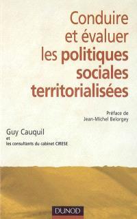 Conduire et évaluer les politiques sociales territorialisées