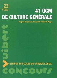 41 QCM de culture générale : entrée en écoles du travail social
