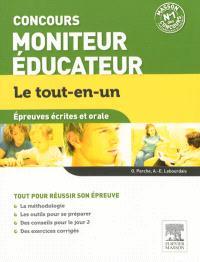 Concours moniteur éducateur : épreuves écrites et orale