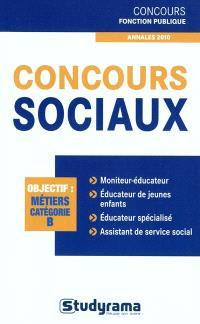 Concours sociaux : objectif métier, catégorie B