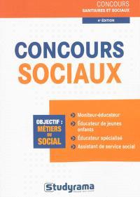 Concours sociaux : objectif, métiers du social
