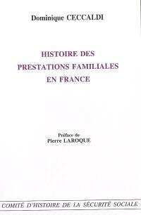 Histoire des prestations familiales en France