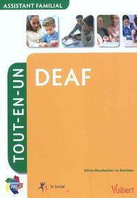 DEAF, assistant familial : tout-en-un