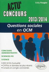 Questions sociales 2013-2014 en QCM