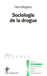 Sociologie de la drogue