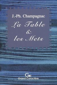 La table & les mets