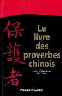 Le livre des proverbes chinois