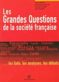 Les grandes questions de la société française