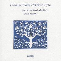 Coma un crostet darrèir un crofe : littérature orale et populaire occitane en bordelais : dictons, chansons, formulettes, devinettes, cris de la rue et de la campagne