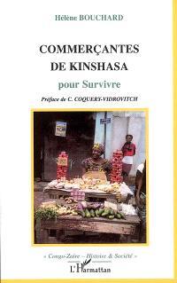 Commerçantes de Kinshasa : pour survivre