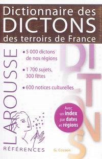 Dictionnaire des dictons des terroirs de France