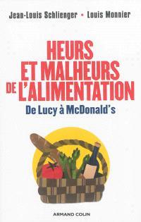 Heurs et malheurs de l'alimentation : de Lucy à McDonald's