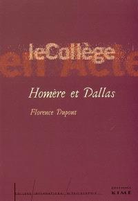 Homère et Dallas : introduction à une critique anthropologique