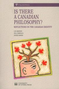 Is there a Canadian philosophy?  : reflections on the Canadian identity