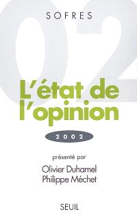 L'état de l'opinion : 2002