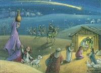 Le cadeau des rois mages : calendrier de l'Avent