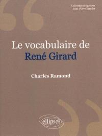 Le vocabulaire de René Girard