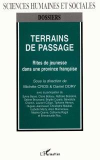 Terrains de passage : rites de jeunesse dans une province française