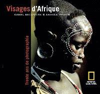 Visages d'Afrique : trente ans de photographie