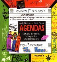 Agendas : cahiers de textes et agendas d'adolescents
