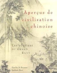 Aperçus de civilisation chinoise