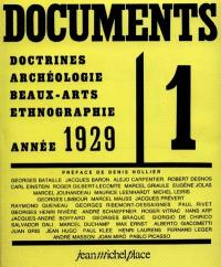 Documents : revues 1929-1930