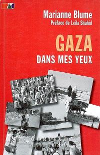 Gaza dans mes yeux