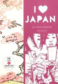 I love Japan : 30 cartes à envoyer