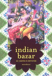 Indian bazar : 30 cartes à envoyer