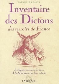 Inventaire des dictons des terroirs de France