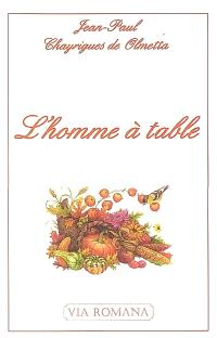 L'homme à table