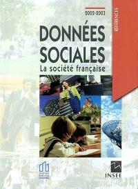 Les données sociales 2002-2003 : la société française