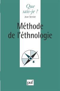 Méthode de l'ethnologie