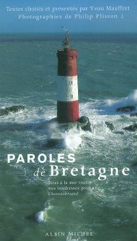 Paroles de Bretagne