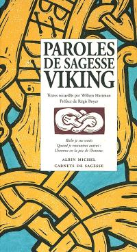 Paroles de sagesse viking