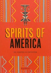 Spirits of America : 30 cartes à envoyer
