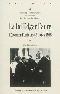 La loi Edgar Faure : réformer l'université après 1968