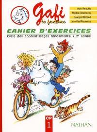 Gafi le fantôme : cycle des apprentissages fondamentaux 2e année, CP, cahier d'exercices 1