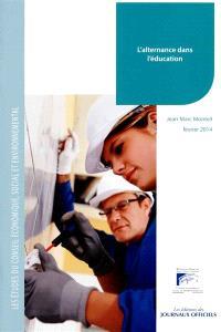 L'alternance dans l'éducation : mandature 2010-2015, bureau du 11 février 2014