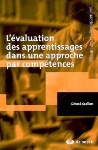 L'évaluation des apprentissages dans une approche par compétences